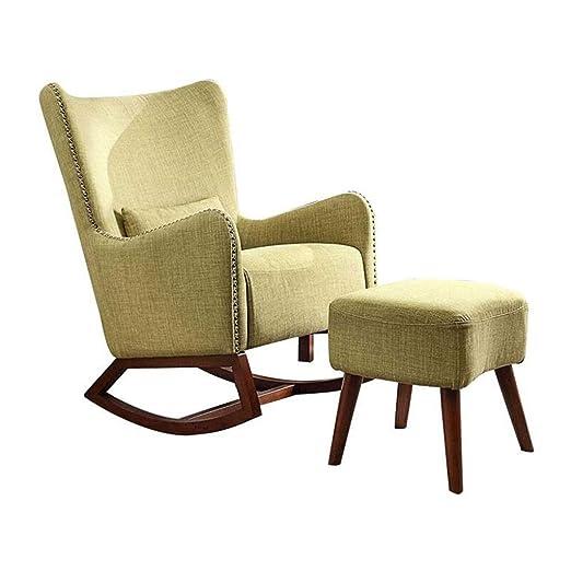 HYYTY-Y Silla Mecedora Individual para sofá, sillón ...