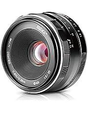 Meike 25mm f/1.8 Grote Diafragma Groothoek Lens Handleiding Focus Lens voor Olypums Panasonic Micro 4/3 Mount Spiegelloze Camera's
