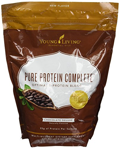 - Young Living Pure Protein Complete 5-protein Blend Chocolate 29.4 oz (833g)