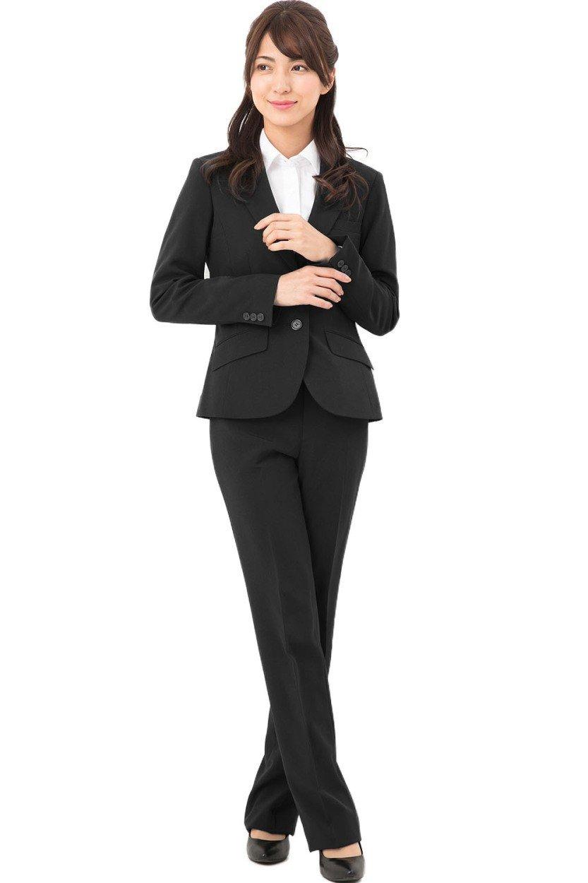 [アッドルージュ] スーツ レディース ジャケット パンツスーツ スーツ ジャケット レディース 2点セット ストレッチ 洗える【j5099】 B01MZ42VBF 15号|【2つボタン】ブラック【2つボタン】ブラック 15号, プラネットスタイルズ:06b3b096 --- jpworks.be