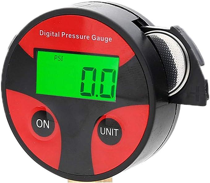 Zchun 0 200 Psi Digital Reifen Luftdruckprüfer Lcd Manometer Für Auto Lkw Motorrad Küche Haushalt