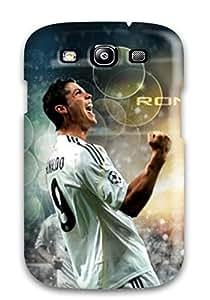 For ZippyDoritEduard Galaxy Protective Case, High Quality For Galaxy S3 Cristiano Ronaldo Photos Skin Case Cover