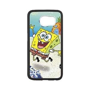 HXYHTY SpongeBob Phone Case For Samsung Galaxy S6 G9200 [Pattern-1]