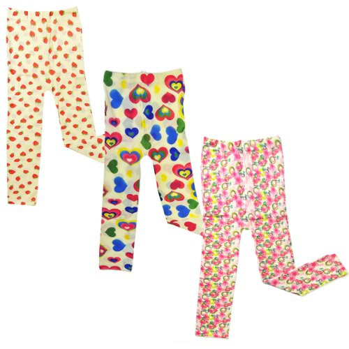 Wrapables Toddler Stretch Leggings Lace