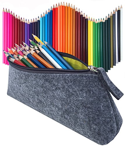 Colored Pencils 48 Pieces & Pencil Case