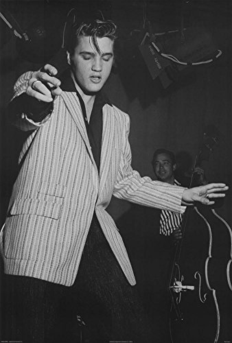 Elvis Presley with Bill Black on Double Bass