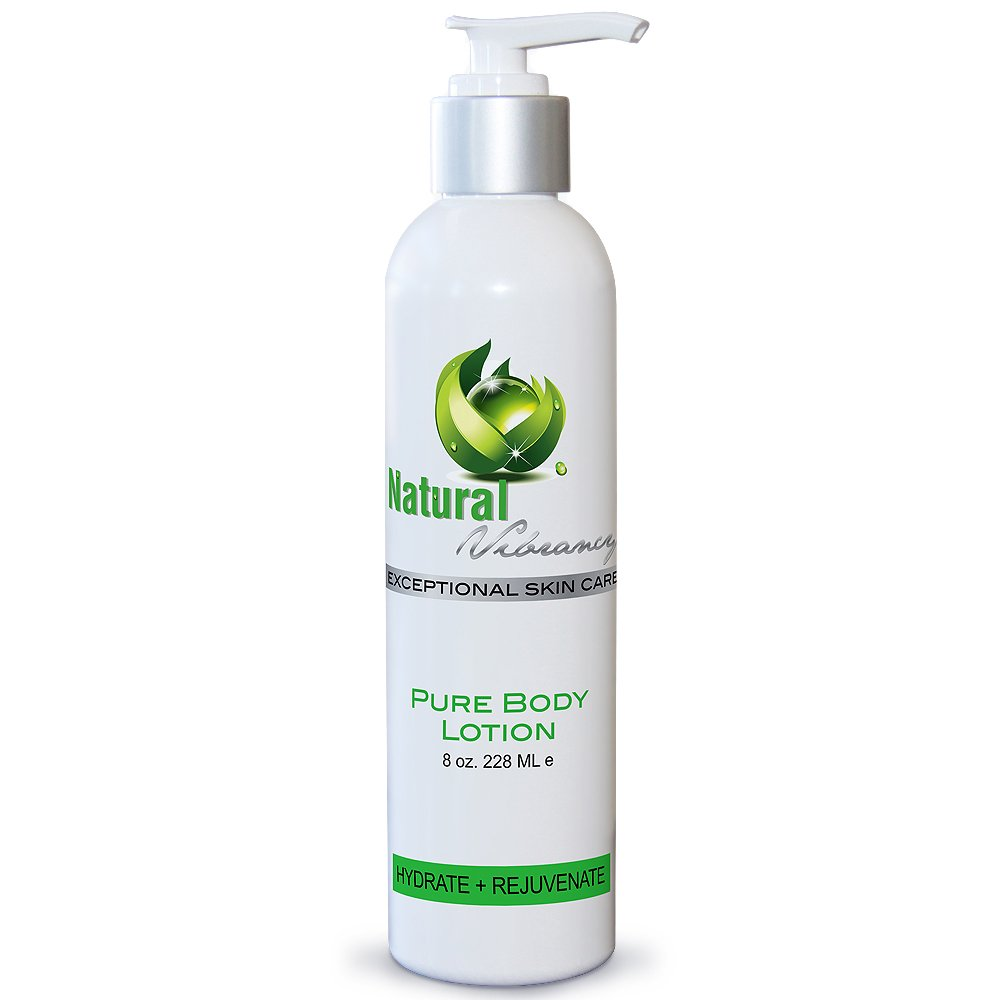 Natural Body Lotion - Antioxidant-rich & Anti-inflammatory - Luxury Face Moisturizer for Men & Women - Seaweed & Green Tea Extract Deeply Hydrates & Soothes Normal to Dry & Sensitive to Irritated Skin