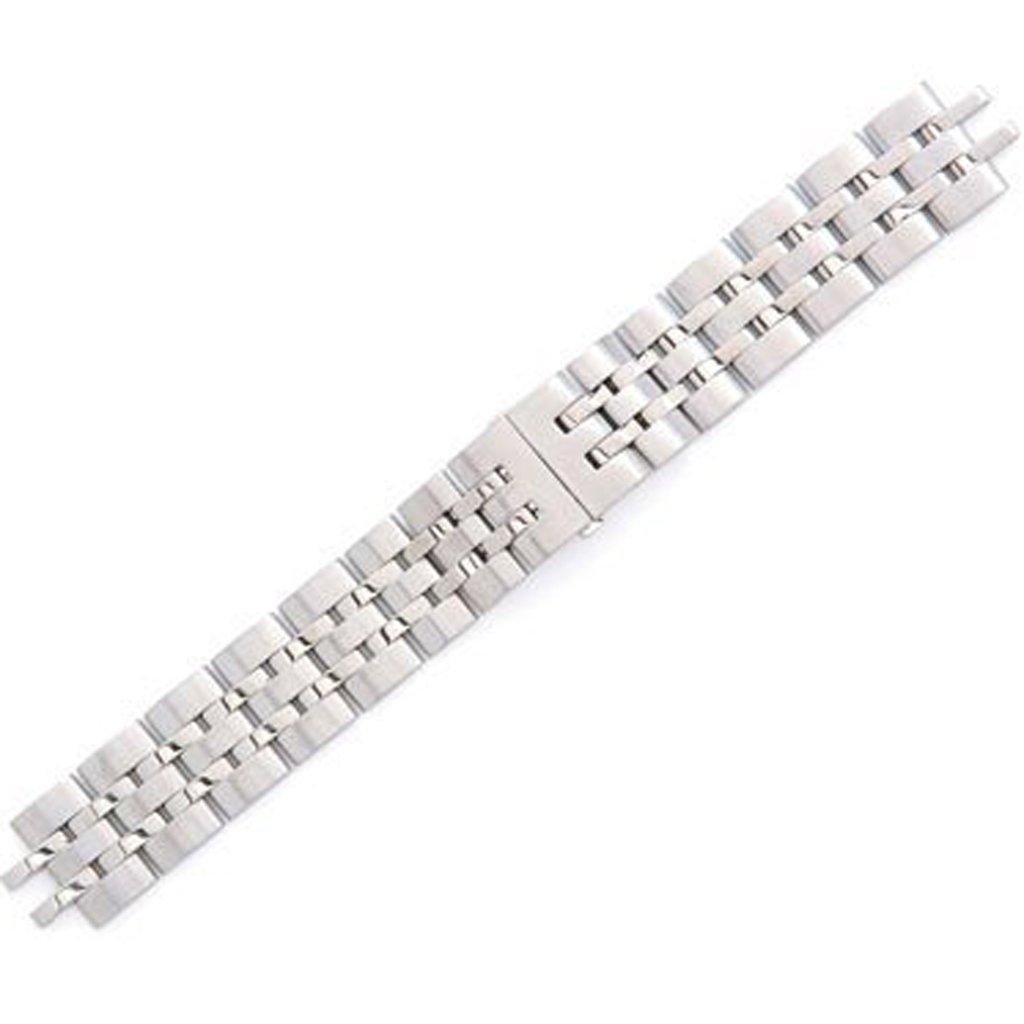 Swiss Army Alliance Silver Tone Stainless Steel 20mm Watch Bracelet
