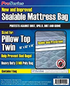 Amazon Com Proseries Heavy Duty Sealable Mattress Bag