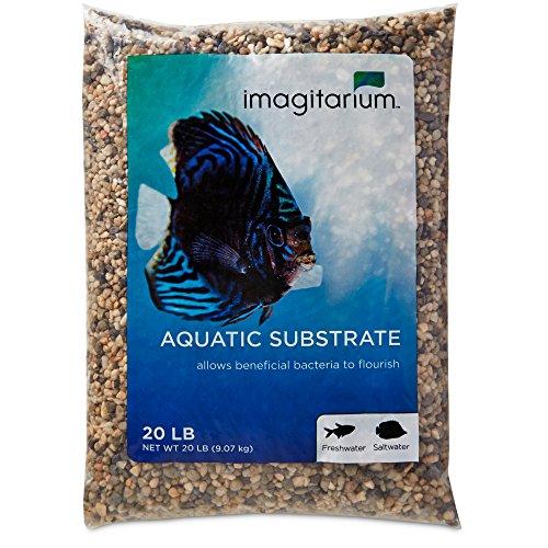 Imagitarium Nutmeg Aquarium Gravel, 20 LBS