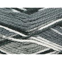 King Cole Big Value Multi Knitting Yarn Chunky 1008 Domino - per 100 gram ball