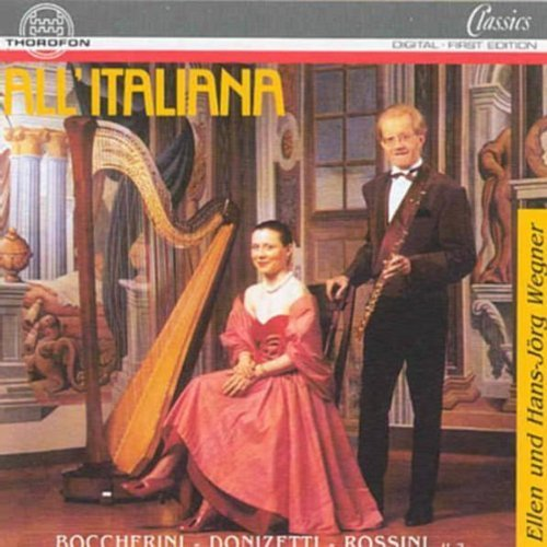 or Flute Harp by Boccherini ()