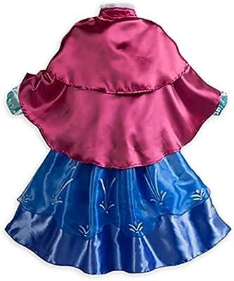 MissFox Princesas Frozen Disfraz Princesa Anna Para Niña 110CM ...