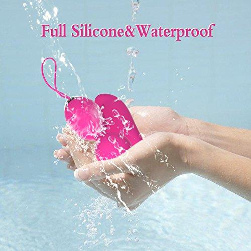 Wireless Remote Control G Spot Bullet Egg Vibrator - Jintrun Rechargeable Dildo Vibrators Vagina Stimulator Massager for Adult Sex Toys for Women and Couples