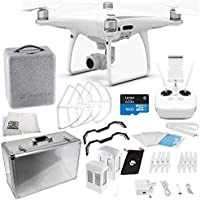 DJI Phantom 4 PRO Quadcopter Essentials Aluminum Case Bundle