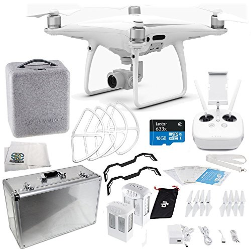 DJI Phantom 4 PRO Quadcopter Essentials Aluminum Case Bundle Kit