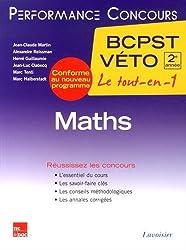 Maths 2e année BCPST-VETO