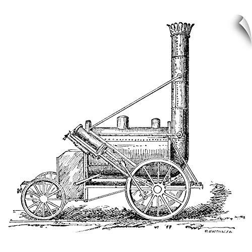 1829 Stephenson Rocket - CANVAS ON DEMAND Stephenson's Rocket, 1829