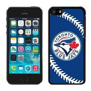 NADIA 2015 Love With Custom Designed Wonderful phone case for Toronto BlueJays Black iPhone 5C 5th Case