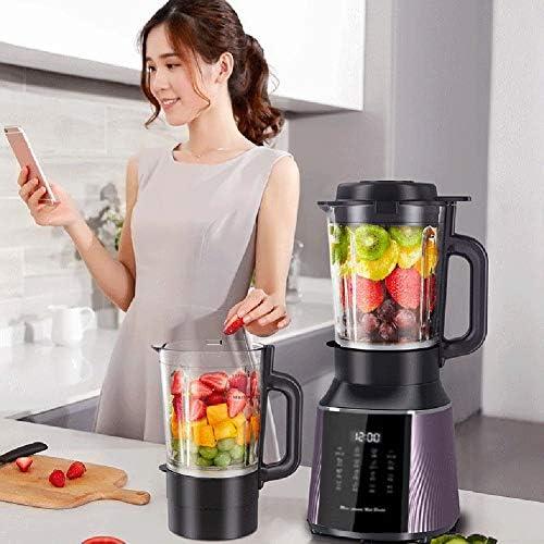 Blender 1200 W Professionele Aanrechtblender Smoothiemaker met BPA-vrije Container, Krachtige Krachtige Blender Ingebouwde Timer Voor Het Malen Van Ijs, Bevroren Desser