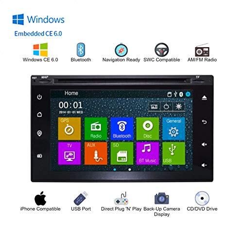 OEM Radio Replacement 6.2 Inch Touch Screen GPS Navigation Bluetooth Multimedia Radio (Fits: Titan 2004-2011, Pathfinder 2005-2011, Versa 2007-2011, Cube 2009-2011)