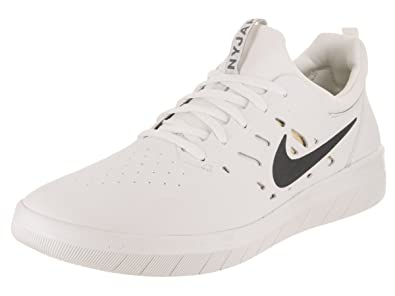 the best attitude c4a35 cbbab Nike SB Nyjah Free Men s Skateboarding Shoes - AA4272 (8 M US, Summit White
