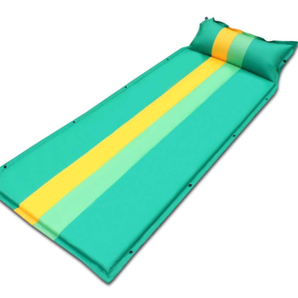 ColchóN De Aire Cama Inflable Acampar Al Aire Libre Moqueta A Prueba De Humedad ColchóN Multi-Persona para El Almuerzo,Green
