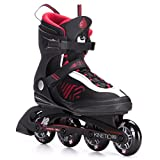 K2 Skate Men's Kinetic 80 Inline Skates, Black, 13