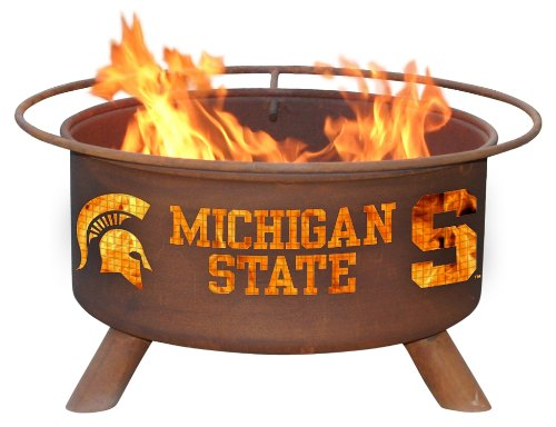 (Patina Products F403 Michigan State Fire Pit)