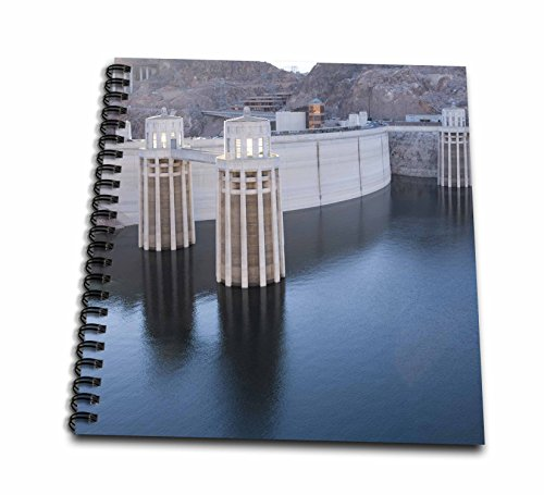 Level Water Mead Lake (Danita Delimont - Dams - Low water levels at the Hoover Dam, Lake Mead, NV - US29 MPR0047 - Maresa Pryor - Memory Book 12 x 12 inch (db_92239_2))