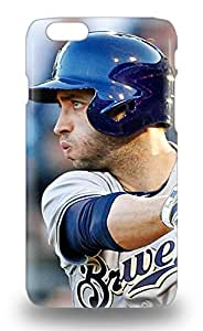 Iphone 3D PC Soft Case Cover Specially Made For Iphone 6 MLB Milwaukee Brewers Ryan Braun #8 ( Custom Picture iPhone 6, iPhone 6 PLUS, iPhone 5, iPhone 5S, iPhone 5C, iPhone 4, iPhone 4S,Galaxy S6,Galaxy S5,Galaxy S4,Galaxy S3,Note 3,iPad Mini-Mini 2,iPad Air )