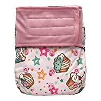 EcoAble Baby All-In-One AIO Cloth Diaper & Charcoal Bamboo Insert, Hook-&-Loo...
