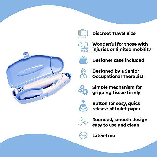 Buckingham Travel Compact Folding Easywipe Toilet Aid