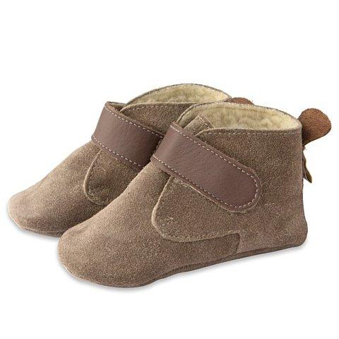 ShooShoos - Botines de lana, marrón, talla xl (18 a 24 meses)