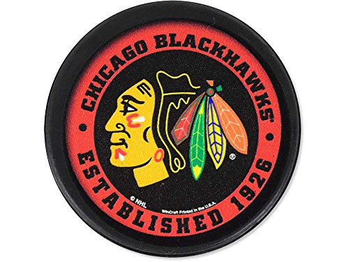 (WinCraft NHL Chicago Blackhawks Packaged Hockey)