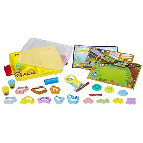 - Play-Doh Shape and Learn Discover and Store
