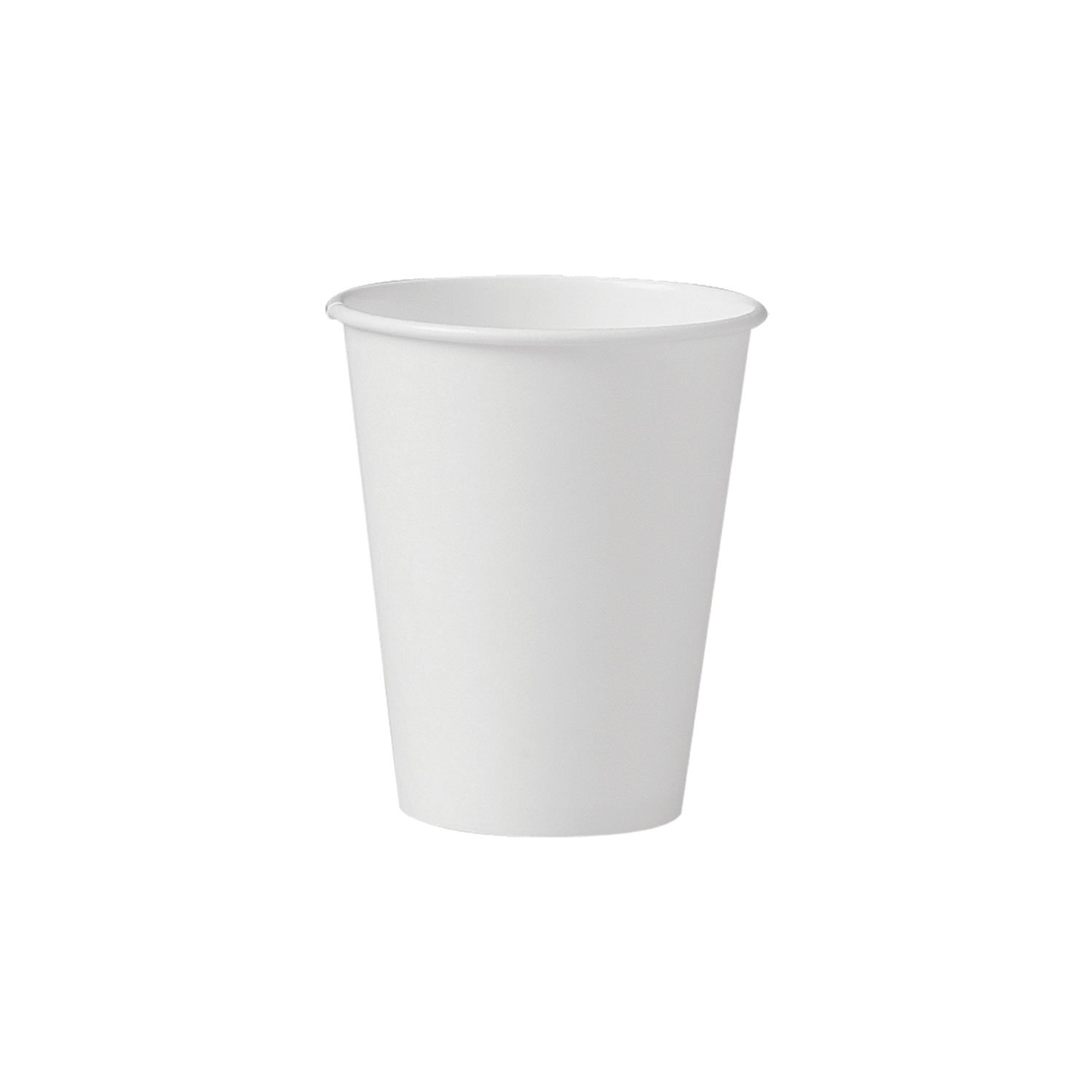 Solo 378W-2050 8 oz White SSP Paper Hot Cup (Case of 1000) by Solo Foodservice (Image #2)