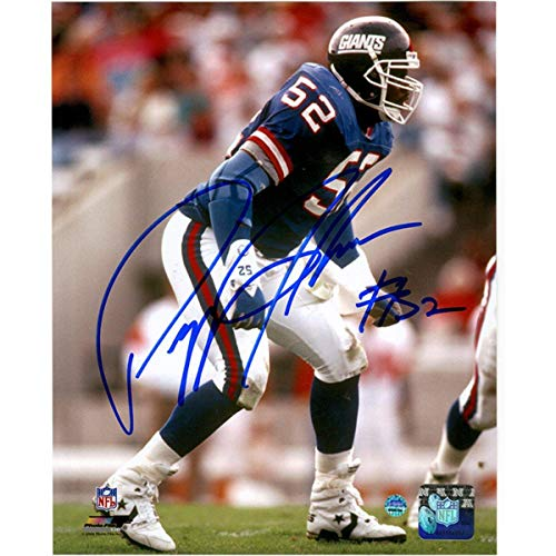 Pepper Johnson Signed New York Giants 8X10 Photo - Steiner Sports Certified - Autographed NFL Photos ()
