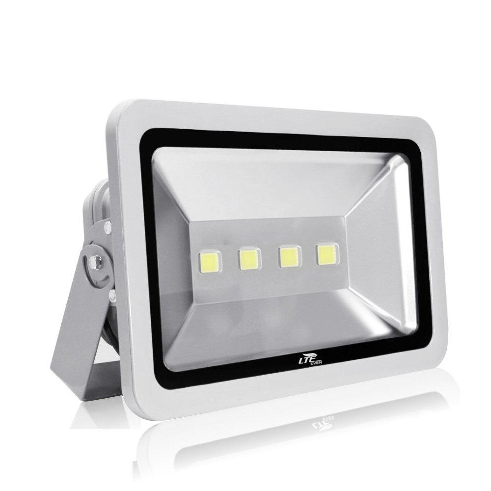 LTE 240W LED Flood light Supoer Bright Outside Daylight White Security Light,6000K, IP66 Waterproof Landscape Wall Light