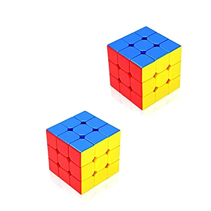 ONCEMORE by New High Stability Speed Cube Rubik Cube High Speed, Cube (3x3x3 Cube) Set of 2