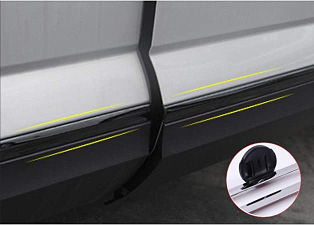 4 Pcs iina fit for Atlas 2018-2020 Body Side Molding Door Edge Sill Trim Bar Plate Cover