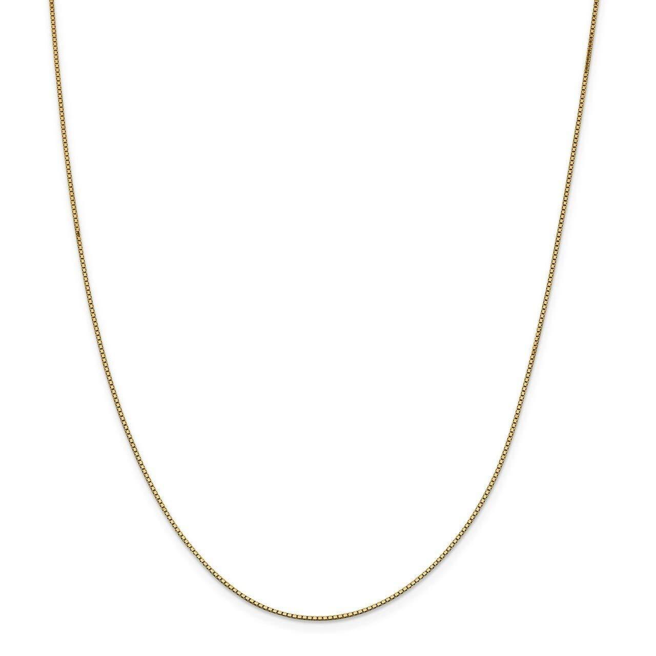 Lex /& Lu 14k Yellow Gold .95mm Box Chain Bracelet or Necklace