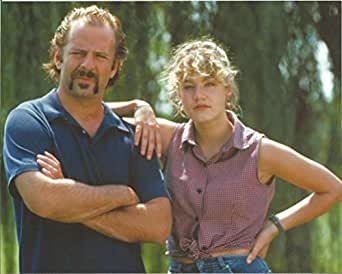 Bruce Willis with mustache & young woman - 8 x 10 Movie ...