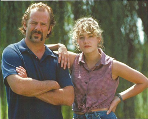 Bruce Willis with mustache & young woman - 8 x 10 Movie Photo 004 Look Whos Talking Monkey