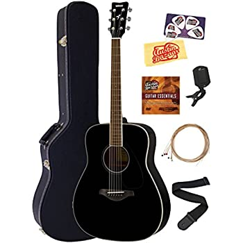 Yamaha fg820 solid top folk acoustic guitar for Yamaha fg820 review