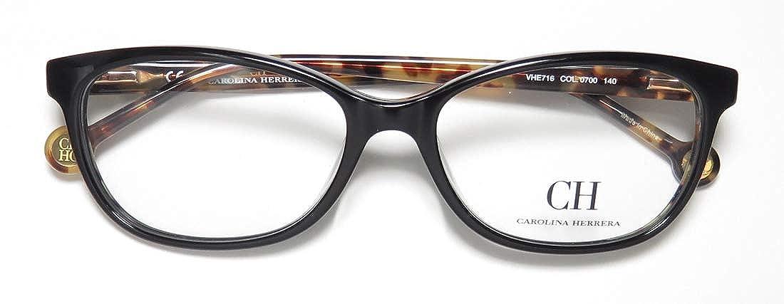 Amazon.com: Eyeglasses Carolina Herrera VHE 716 0700 - Lente ...