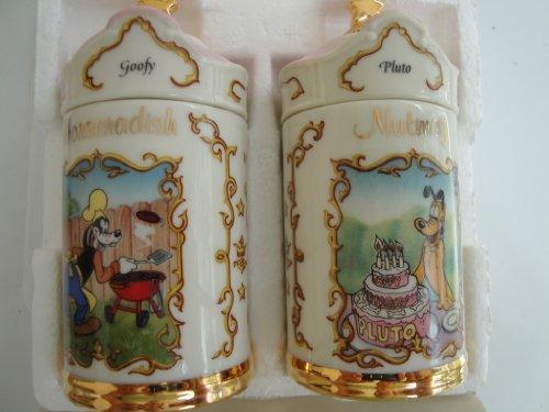 Lenox Spice Jar (Disney Lenox Spice Jars: Nutmeg Pluto and Horseradish Goofy)