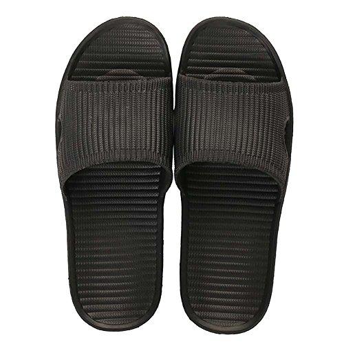 Quick Antideslizante Sole Negro Topcloud Ba Open Sandal Toe Soft Dry Zapatillas de o Slippers casa aYw8qE8T