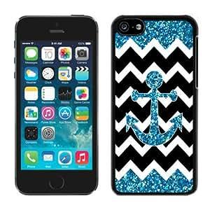 Anchor chevron Apple Iphone 5C Case Black Cover 3