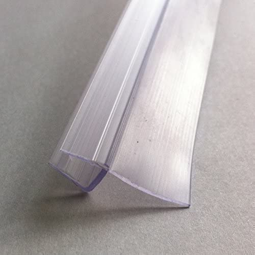 HNNHOME - Junta para puerta de cristal de ducha (válida para puertas con grosor de 4 a 6 mm y huecos de hasta 16 mm): Amazon.es: Hogar
